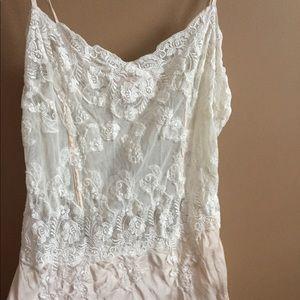 Other - 100% silk Victoria's Secret Lace Slip, Small